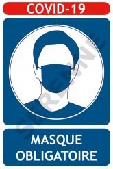 COVID 19 : Port du masque obligatoire dans le hall et lors des déplacements